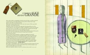 Une page de l'album